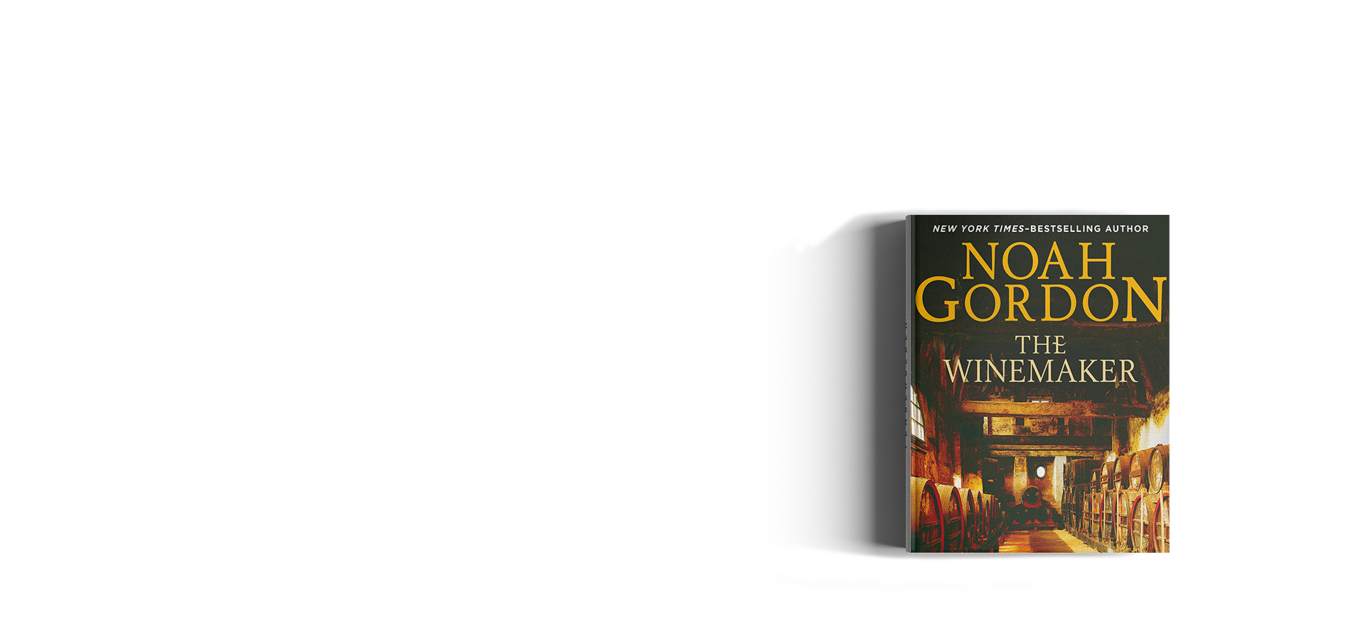Noah Gordon's books are available in Audio format from Amazon/Audible._